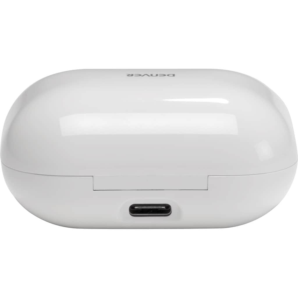 Denver In-Ear-Kopfhörer »TWE-38 Kabelloser-«, Bluetooth, Freisprechfunktion-integrierte Steuerung für Anrufe und Musik-LED Ladestandsanzeige-True Wireless