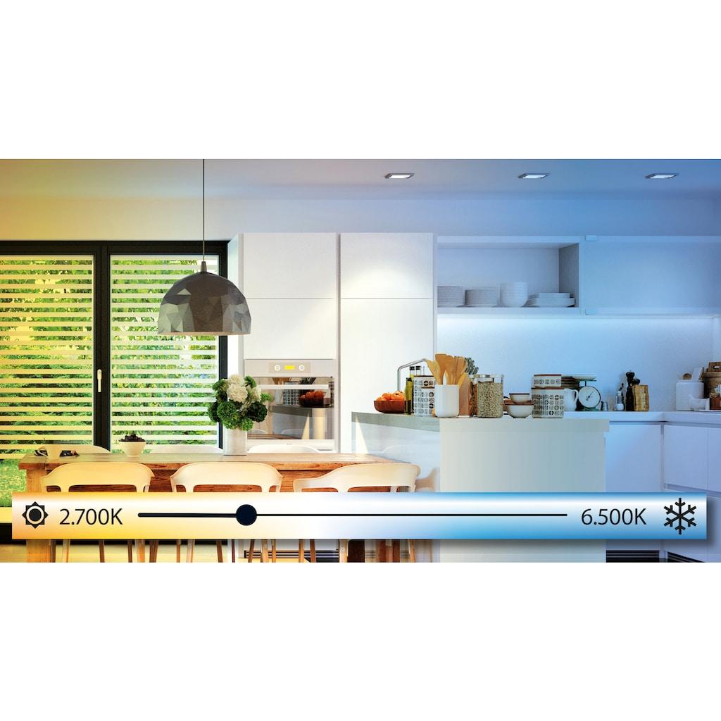 EGLO Deckenleuchte »MORATICA-A«, LED-Board, Extra-Warmweiß-Kaltweiß-Neutralweiß-Tageslichtweiß-Warmweiß, Steuerung über Fernbedienung, Nachtlicht