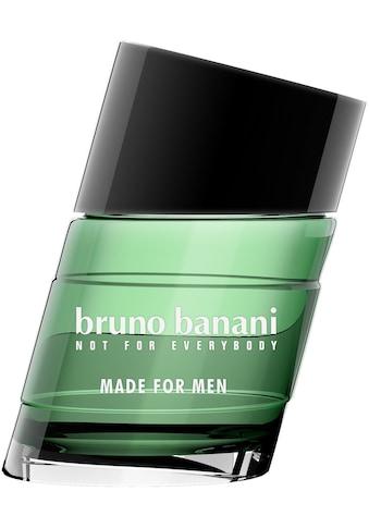 Bruno Banani Eau de Toilette »Made for Men« kaufen