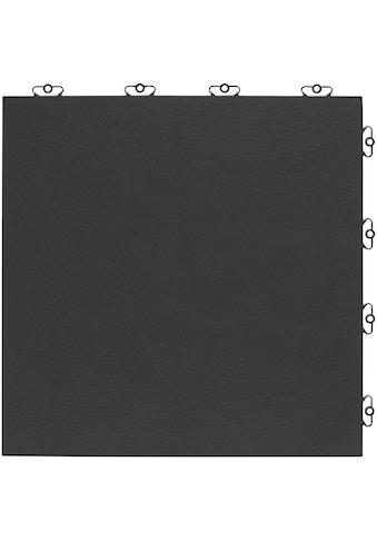 Bergo Flooring Terrassenplatten »Kunststofffliese Elite anthrazit«, Klickfliesen 5 m² kaufen