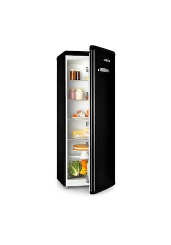 Klarstein Vollraumkühlschrank 242l Retro - Design 4 Ebenen »CO2 - Irene XL - Black« kaufen
