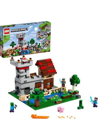 """LEGO® Konstruktionsspielsteine """"Die Crafting - Box 3.0 (21161), LEGO® Minecraft™"""", (564 - tlg.) kaufen"""