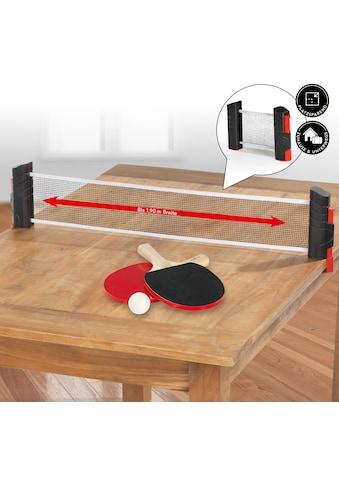 MAXXMEE Tischtennisschläger, (Set, 7 tlg., mit Bällen-mit Netz) kaufen
