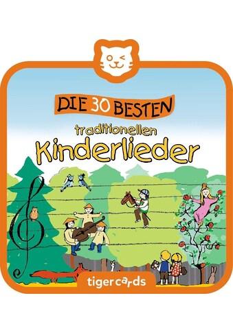 tigerbox Hörspiel, »Die 30 besten traditionellen Kinderlieder« kaufen