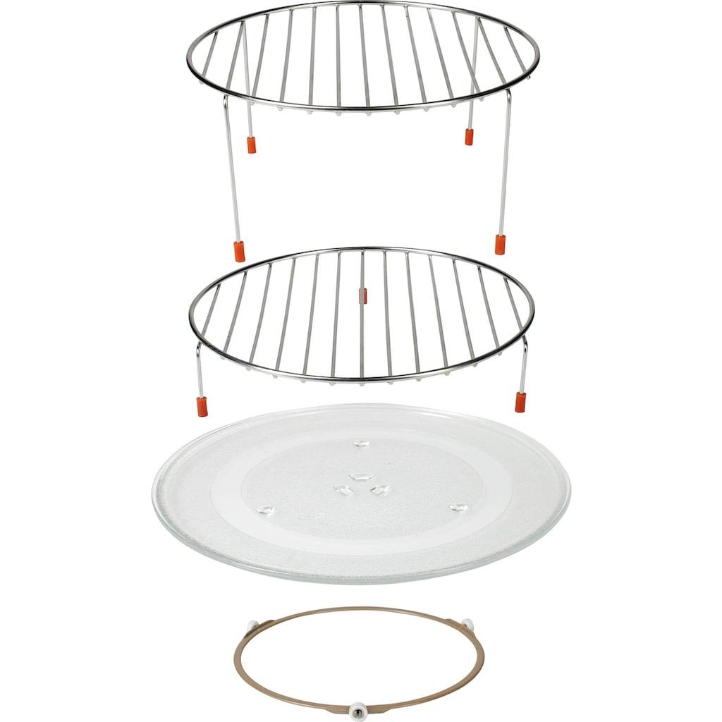 Hanseatic Mikrowelle »42980546«, Grill-Umluft, 900 W, Kombi- Mikrowelle