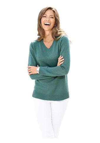 Classic Basics Pullover mit V - Ausschnitt kaufen