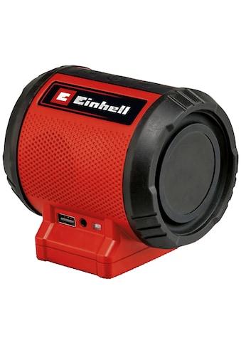 Einhell Bluetooth-Lautsprecher »TC-SR 18 Li BT - Solo«, ohne Akku, ohne Ladegerät kaufen
