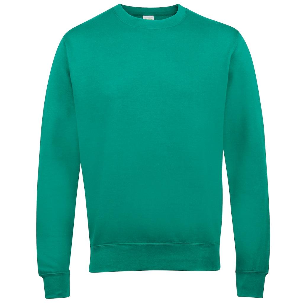 AWDIS Rundhalspullover »Just Hoods Unisex Sweatshirt mit Rundhalsausschnitt«