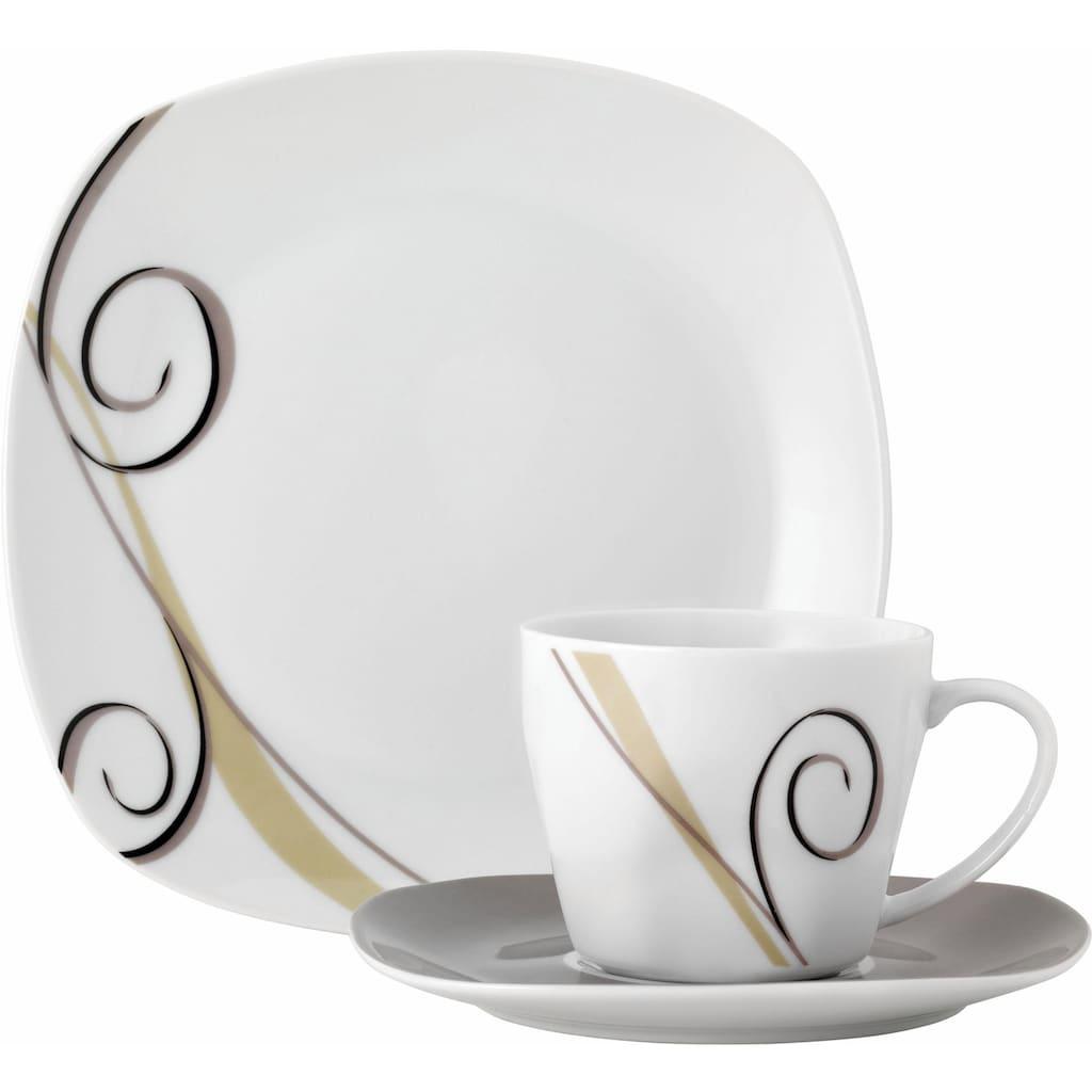 van Well Kaffeeservice »ALLEGRO«, (Set, 18 tlg.), Spülmaschinengeeignet