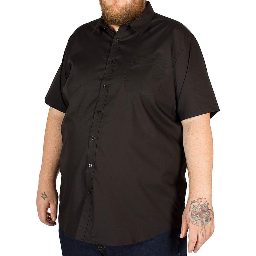 Duke Clothing Kurzarmhemd »Herren Aeron Kingsize, regulärer Schnitt«