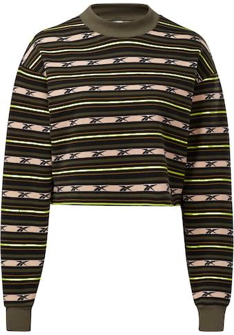 Reebok Classic Sweatshirt »CL CAMP STRIPE CREW« kaufen