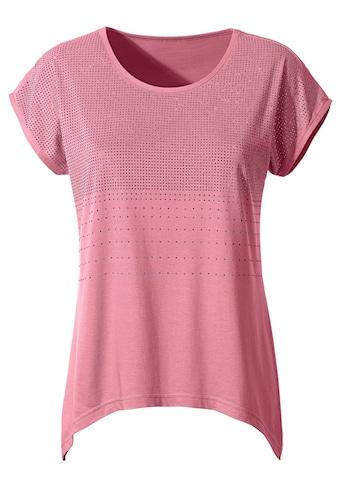 Classic Inspirationen Shirt mit üppiger Glitzersteinchen - Verzierung kaufen