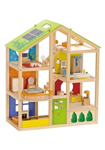 Hape Puppenhaus »Vierjahreszeiten«, inkl. Puppenmöbel kaufen