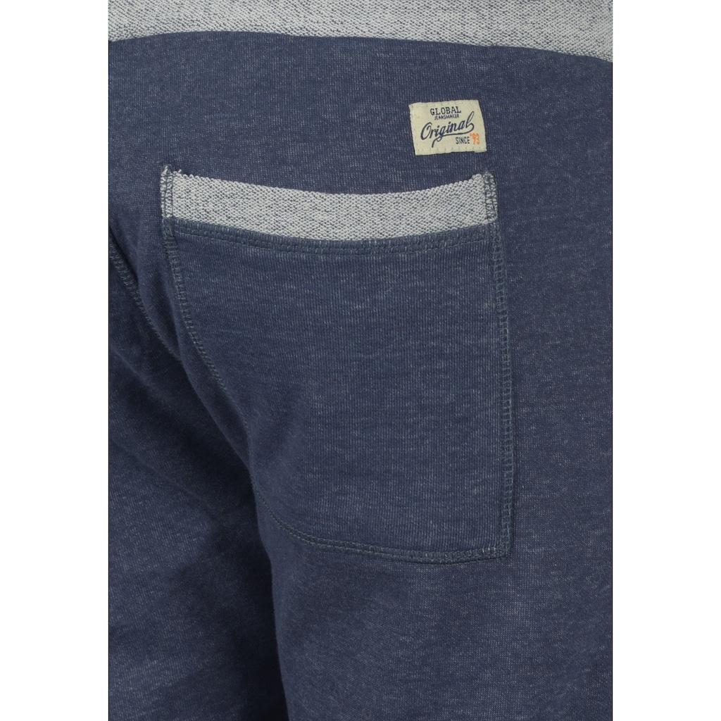 Blend Sweatshorts »Sonny«, kurze Hose mit Kontrastbündchen