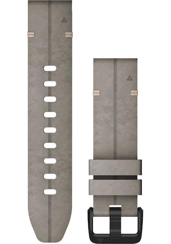 Garmin Ersatz - /Wechselarmband »Ersatzarmband QuickFit 20 mm Velourleder« kaufen