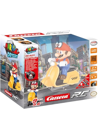 Carrera® RC-Auto »Carrera® RC - Super Mario Odyssey™ Scooter«, mit LED-Licht kaufen
