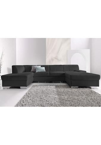 DOMO collection Wohnlandschaft »Star«, wahlweise mit Bettfunktion kaufen