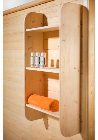 weka Wandregal, für Saunen, BxTxH: 60x25x120 cm kaufen