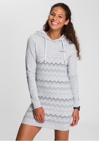 KangaROOS Sweatkleid, mit graphischem Allover-Druck kaufen