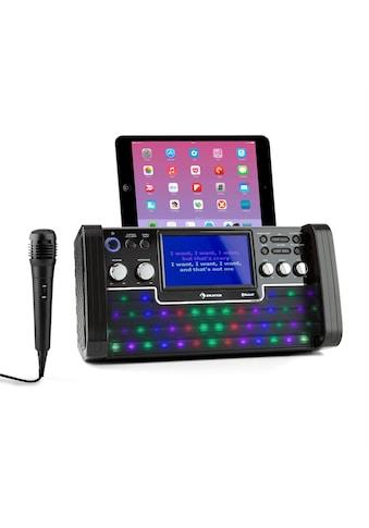 Auna LED Bluetooth Karaoke Anlage LED TFT Screen CD mit Mikrofon »Discofever LED« kaufen