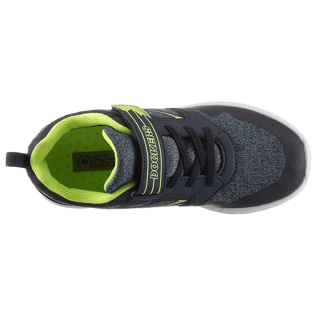 Dockers by Gerli Sneaker, mit coolem Kontrastbesatz