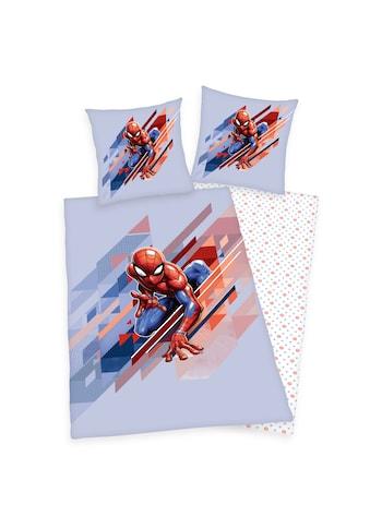 Spiderman Kinderbettwäsche »Spider-Man, Baumwoll-Renforcé« kaufen