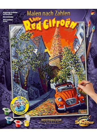 Schipper Malen nach Zahlen »Meisterklasse Premium - The Little Red Citroen«, Made in... kaufen