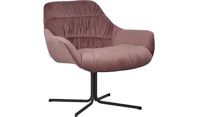 Guido Maria Kretschmer Home&Living Drehstuhl »Icony«, Sessel mit moderner Raffung,... kaufen