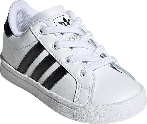 weiße adidas Schuhe für Babys und Kleinkinder