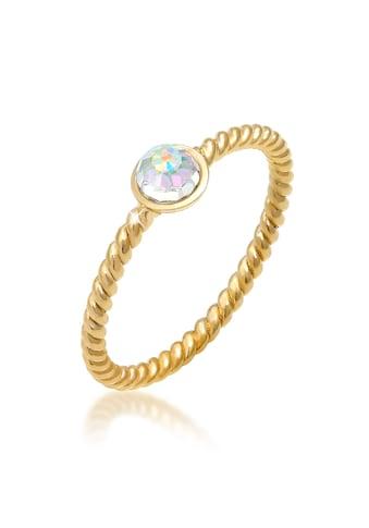 Elli Fingerring »Solitär Kristalle facettiert 925 Silber« kaufen