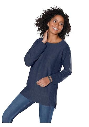 Classic Basics Pullover mit schmeichelndem Rippenmuster kaufen