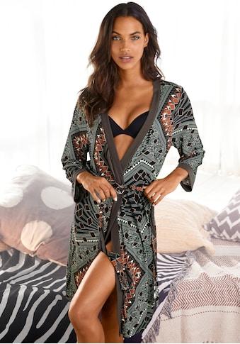 LASCANA Kimono, mit Bindegürtel kaufen
