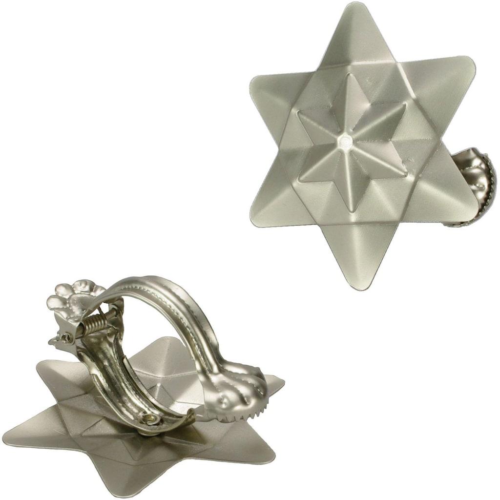 Liedeco Dekoklammer »Orbit«, (Packung, 2 St.), für Gardinen, Vorhänge