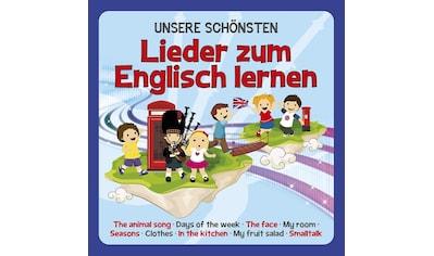 Musik - CD LIEDER ZUM ENGLISCH LERNEN / Familie Sonntag, (1 CD) kaufen