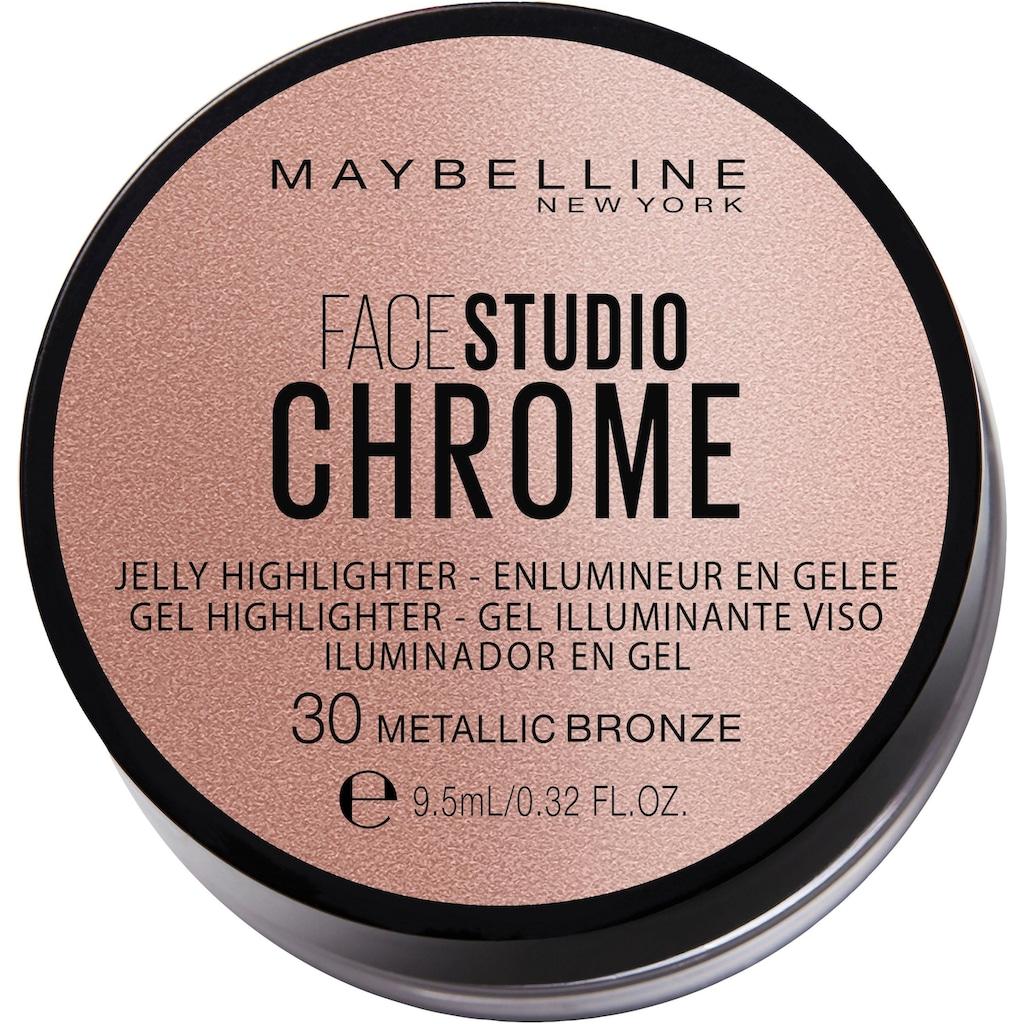 MAYBELLINE NEW YORK Highlighter »Facestudio Chrome Jelly«
