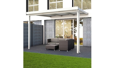 GUTTA Terrassendach »Premium«, BxT: 309x306 cm, Dach Polycarbonat bronce kaufen