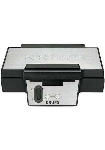 Krups Waffeleisen »FDK251«, 850 W, Antihaftbeschichtete Platten kaufen