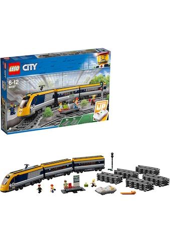 """LEGO® Konstruktionsspielsteine """"Personenzug (60197), LEGO® City"""", (677 - tlg.) kaufen"""