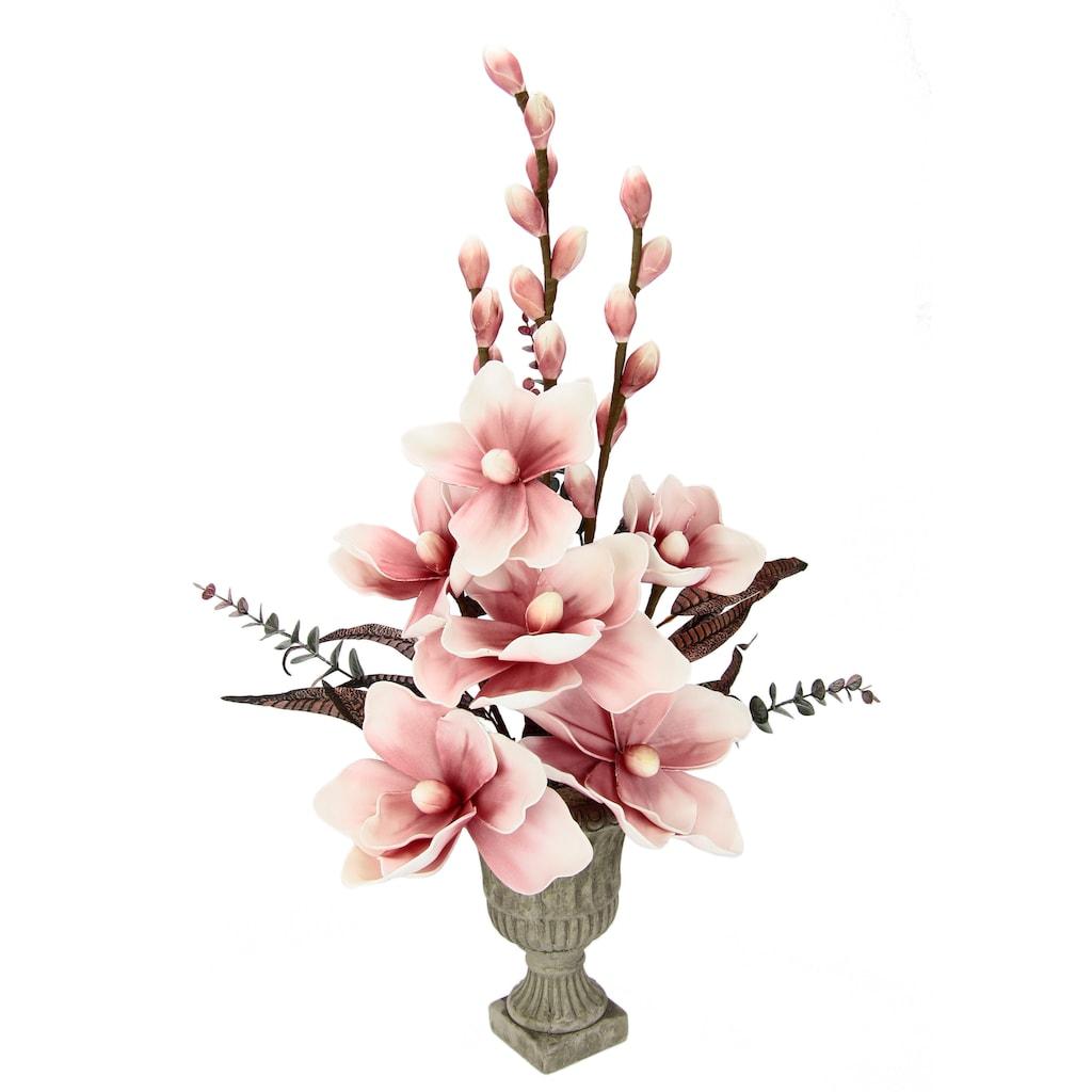 I.GE.A. Kunstpflanze »Soft-Magnolie«
