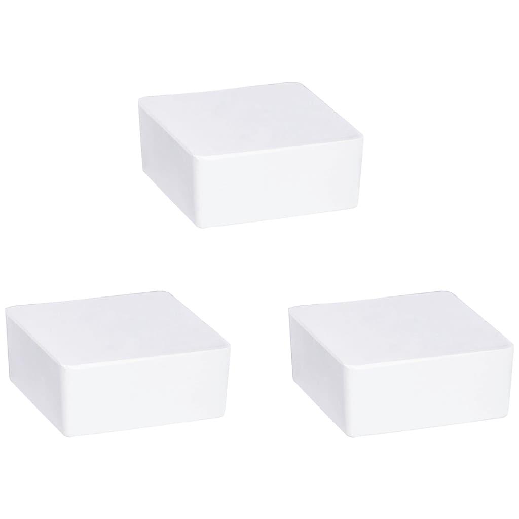 WENKO Luftentfeuchter »Cube«, für 40 m³ Räume, 3x500 g Nachfüllblock mit frischem Orangenduft