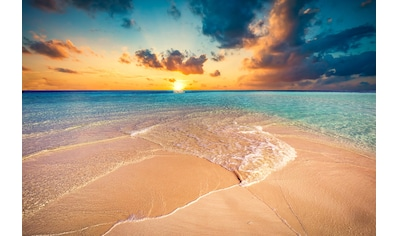 Papermoon Fototapete »Tropischer Strand Malediven«, Vliestapete, hochwertiger... kaufen