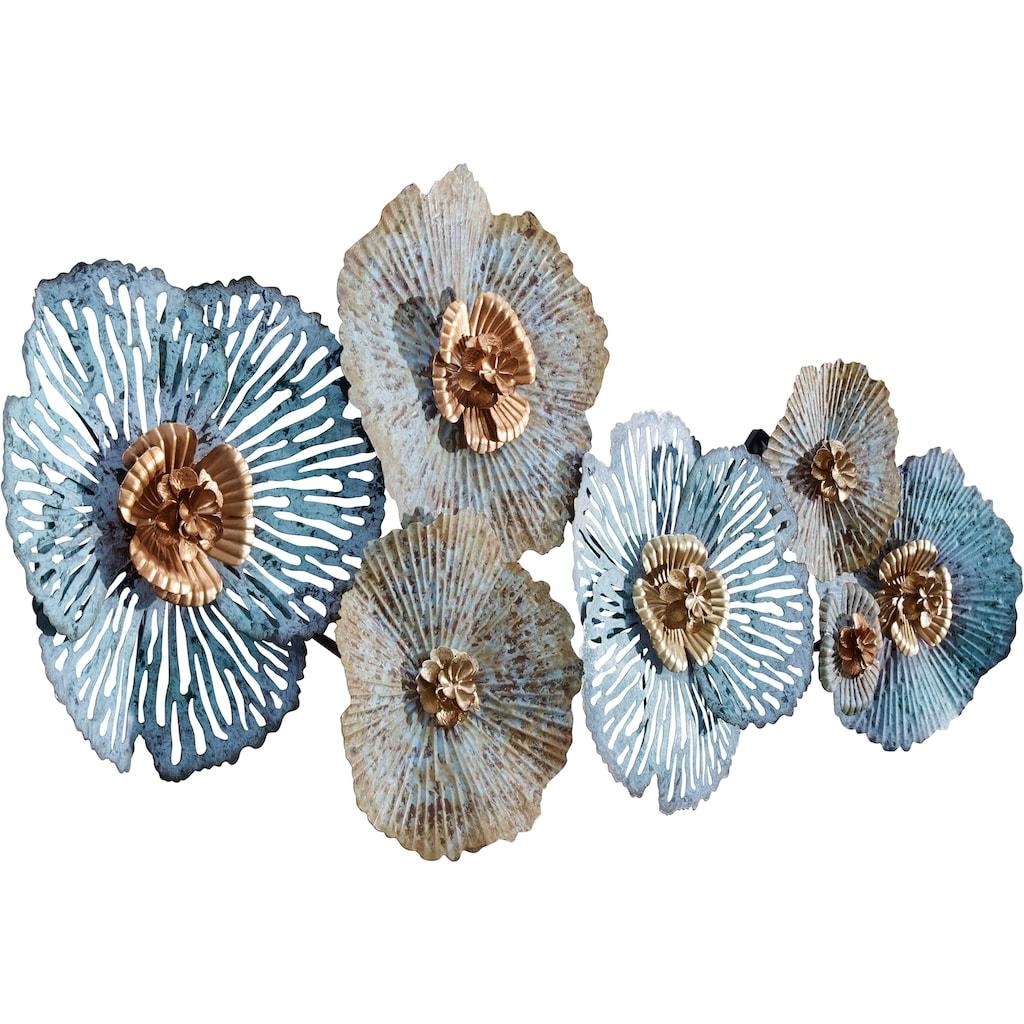 Home affaire Wanddekoobjekt »Blüten«