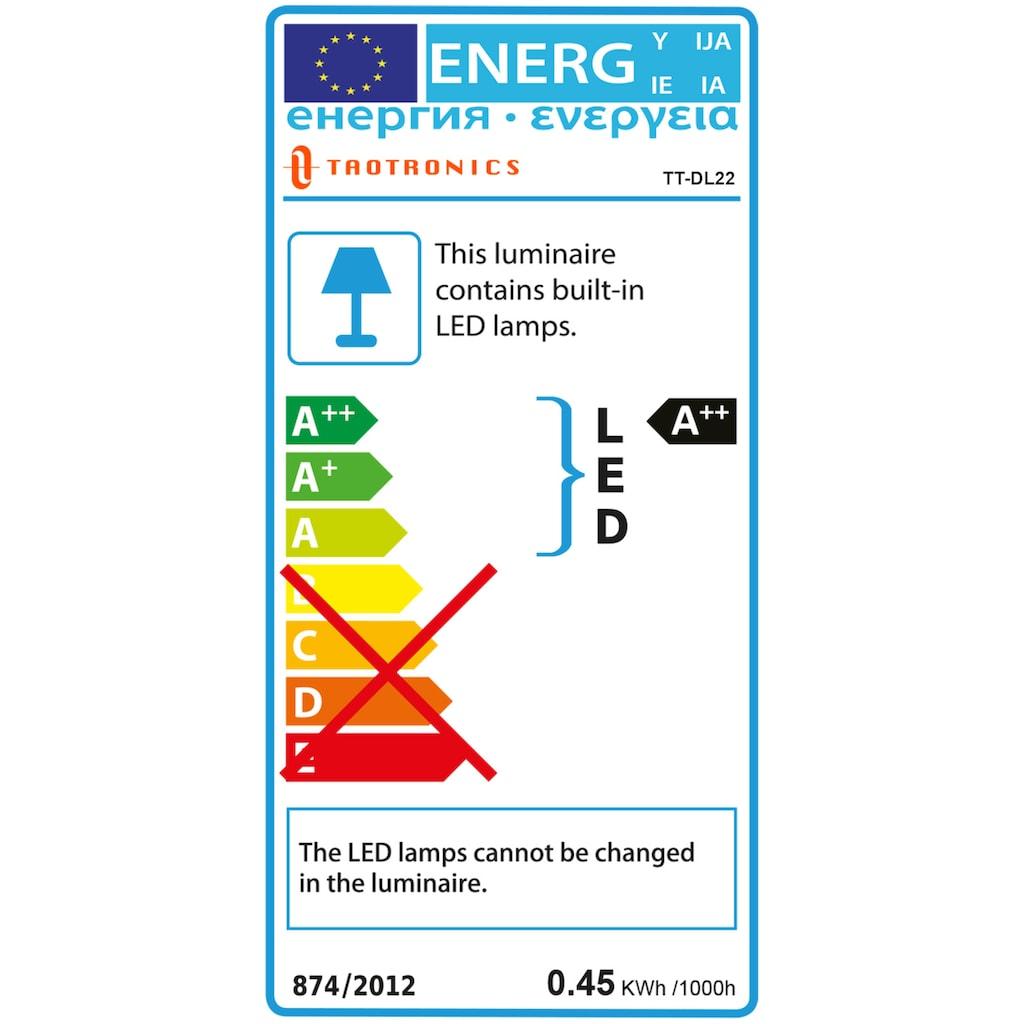 TaoTronics LED Schreibtischlampe »TT-DL22 schwarz«, Farbwechsler