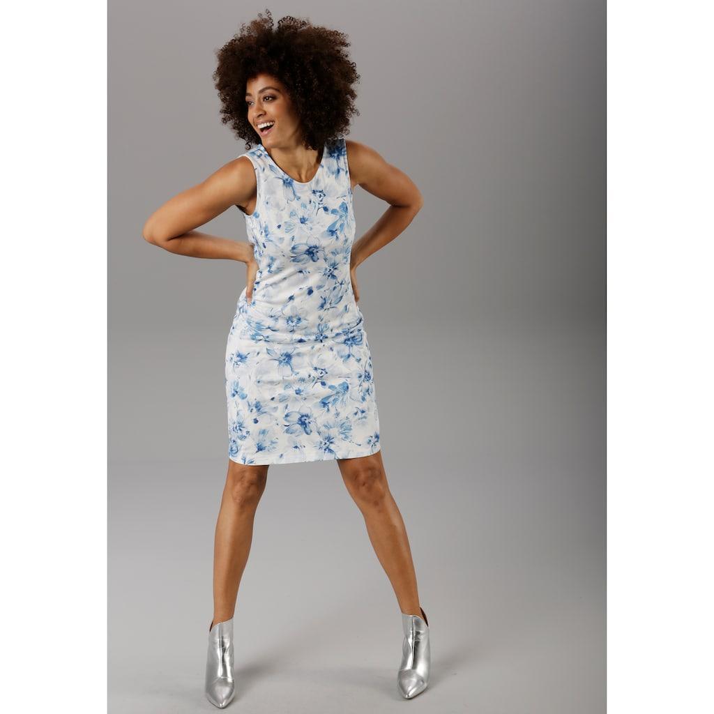 Aniston SELECTED Sommerkleid, im zarten Blumendruck