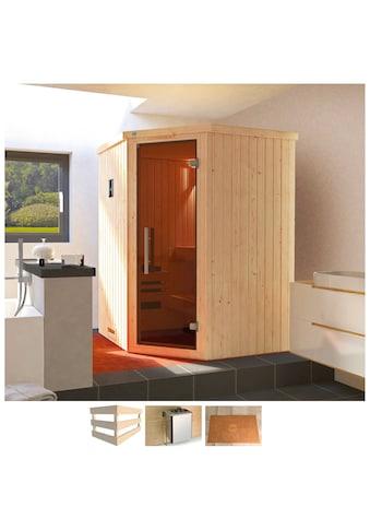 WEKA Sauna »Kiruna«, 144x144x199 cm, 3,6 kW Bio - Ofen mit ext. Steuerung kaufen