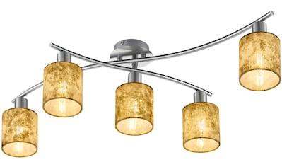 TRIO Leuchten Deckenleuchte »Garda«, E14, schwenkbar, Leuchtmittel tauschbar kaufen