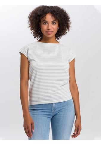 Cross Jeans® T-Shirt »55739«, Lässige Streifen kaufen