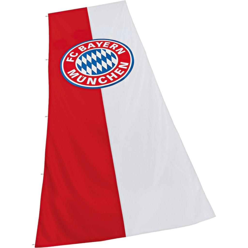 FC Bayern Fahne »FC Bayern München Hissfahne mit Logo«