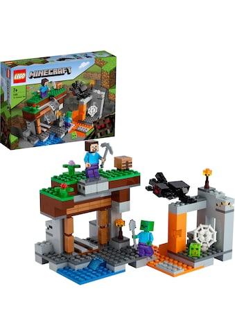 LEGO® Konstruktionsspielsteine »Die verlassene Mine (21166), LEGO® Minecraft™«, (248... kaufen