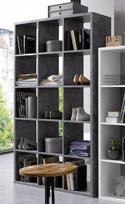 Raumteiler in Grau